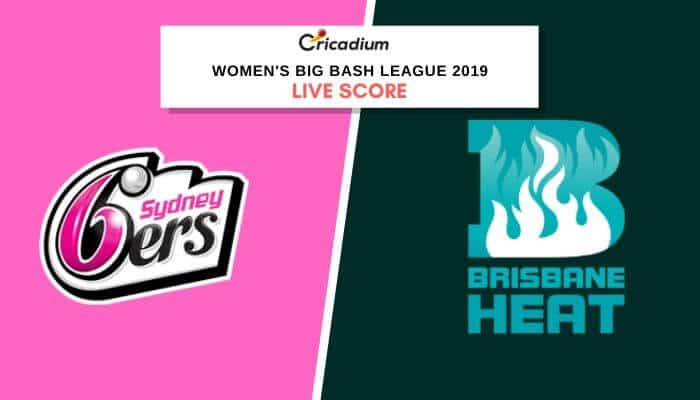 Wbbl 2019: Women's Bbl Match 26 Sysw Vs Brhw Live Cricket Score