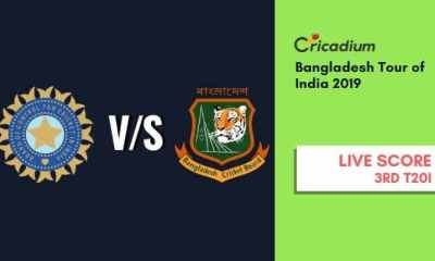 Bangladesh tour of India 2019 3rd T20I India vs Bangladesh Live Cricket Score