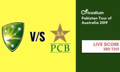 Pakistan tour of Australia, 2019 3rd T20I Australia vs Pakistan Live Cricket Score