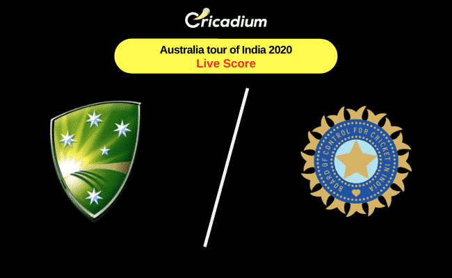 India Vs Australia Live Score Australia Tour Of India