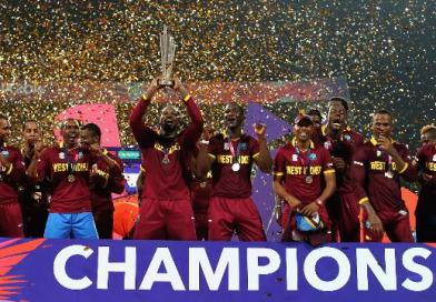 West Indies winning- 2016 World Cup Title
