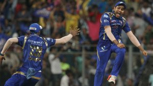 IPL 2015 Qualifier 1 Mumbai Indians v Chennai Super Kings
