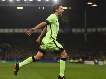 Everton 2-1 Manchester City Capital One Cup