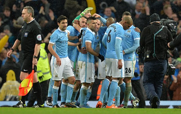 Capital One Cup Manchester City 3 1 Everton