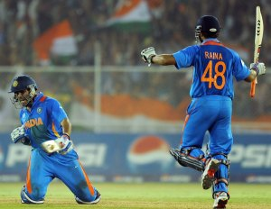 Suresh Raina Australia v India 2016 Sydney five match winning knocks