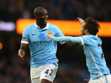 David Silva Yaya Toure Manchester City