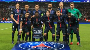 UEFA Champions League Paris Saint-Germain v Manchester City