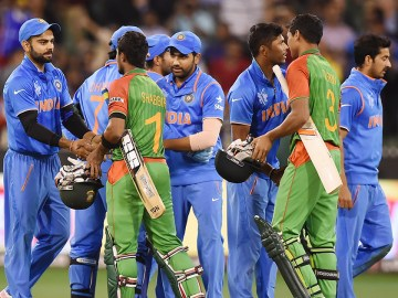 Bangladesh v India 1st ODI 2015