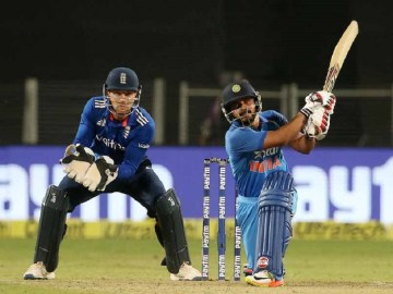 Kedar Jadhav 76-ball 120 in Pune delivers India a three-wicket win