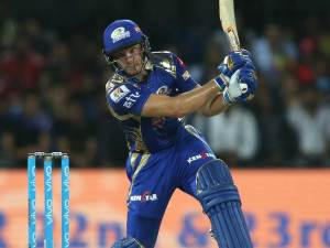 22nd match scorecard, IPL 2017: Jos Buttler's 77 and Nitish Rana's 62* lead Mumbai to eight-wicket win