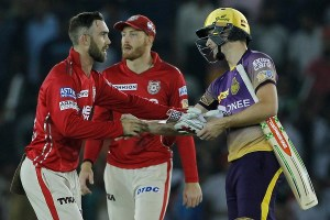 49th match: Kings XI beat Knight Riders by 14 runs
