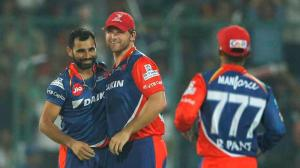 40th match: Mohammed Shami the player of the match in Delhi's six-wicket win