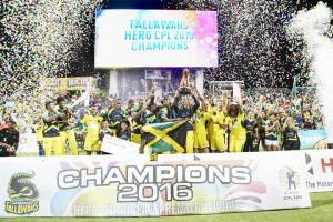 Caribbean Premier League winners from 2013 to 2017