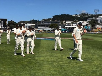 India vs New Zealand 1st Test score, stats 2020 | Wellington, Feb 21-24