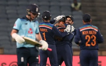Brief scorecard of India vs England 1st ODI 2021 | Pune