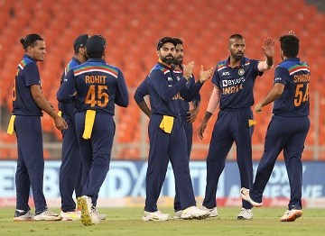Brief scorecard of India vs England 5th T20I 2021 | Ahmedabad