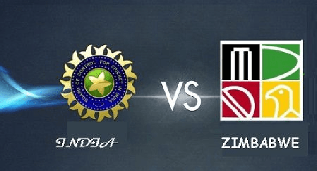 Zimbabwe vs India ODI T20 2016 Series Schedule Table Fixtures Venues