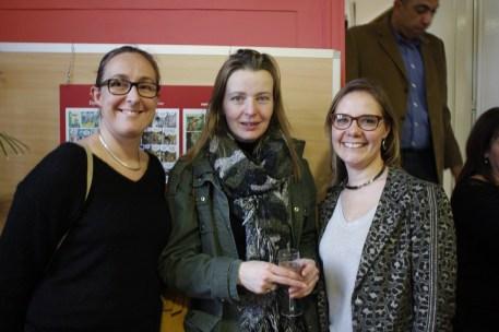 Cécile LOUIS, Cathy, Stéphanie LORENT