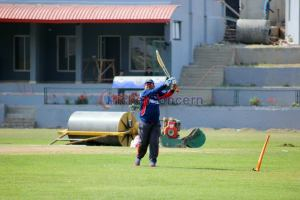Nepali Cricket Team - During preparation for World Cricket League match against Namibia