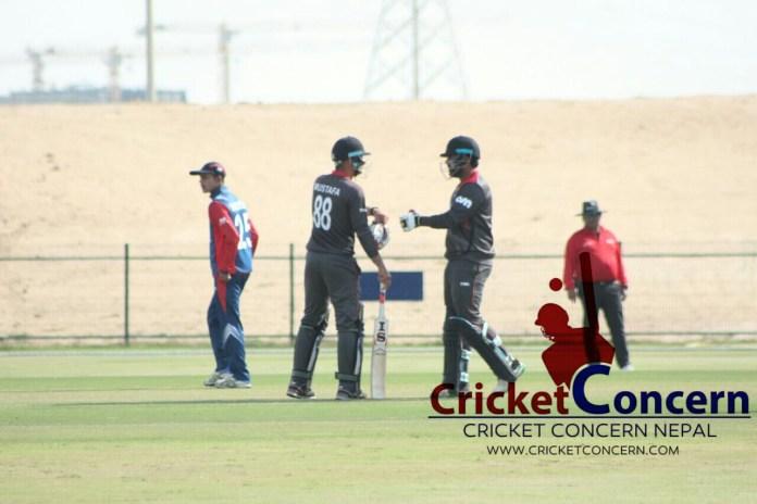 Sompal heroic gone in vein as UAE beat Nepal by 63 run