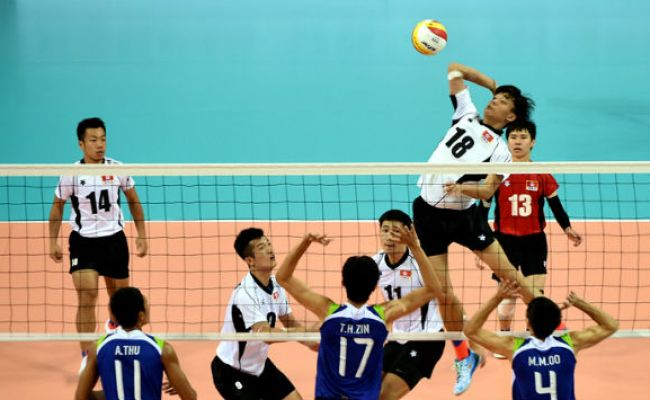 Asian Games 2014 Mixed Day For India In Volleyball Men