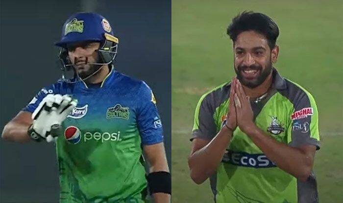 PSL 2020 Playoffs: Haris Rauf Apologises to Shahid Afridi After Dismissing Him For a Golden Duck | Watch Video