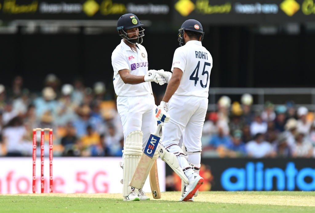 India vs Australia 4th Test Day 2 Brisbane: Play Abandoned Due to Wet Outfield; India Trail by 307