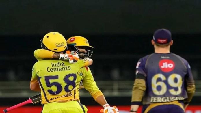 Chennai Super kings defeated Kolkata Knight Riders by 6 wickets