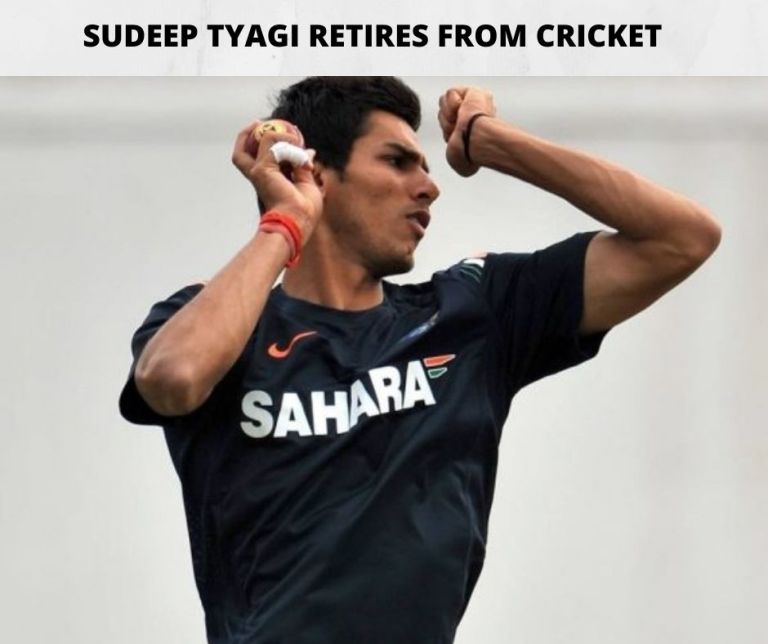 Sudeep Tyagi Retirement I From All Formats I Indian Fast Bowler I