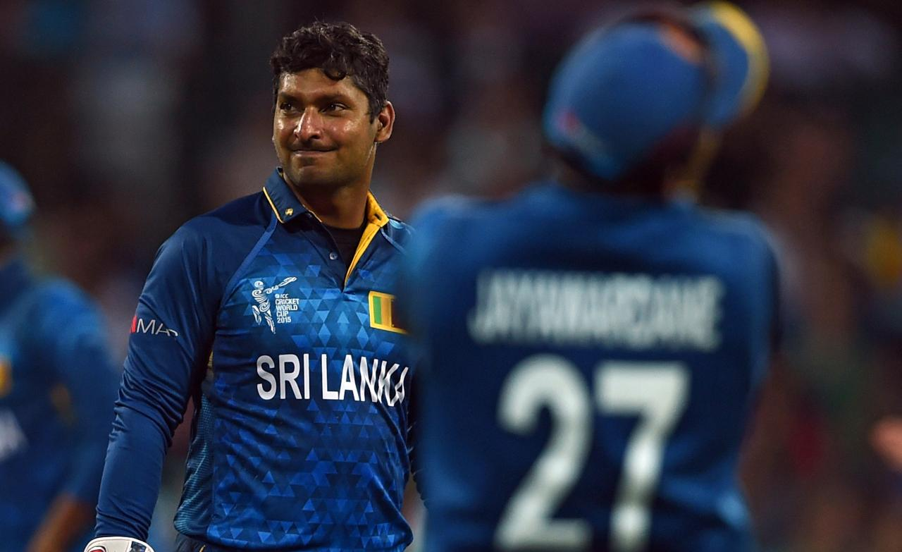 Kumar Sangakkara and Mahela Jayawardena
