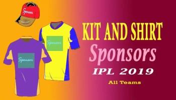 Official sponsors of the top ten cricket teams – Cricket Now