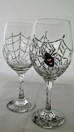Halloween Wine Glasses