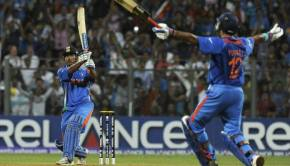MS Dhoni World Cup 2011 Winning Shot