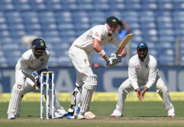 Australia's batting was patient and resolved. Image Courtesy: ICC