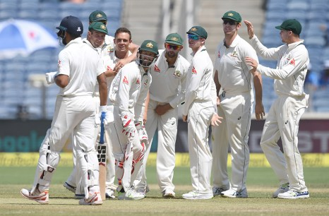 Australia used DRS smartly. Image Courtesy: ICC