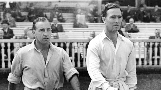 Bill Edrich and Denis Compton. Image courtesy: cricinfo