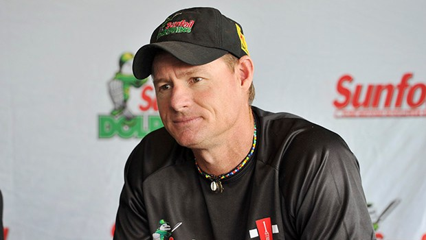 Lance Klusener head coach of the Dolphins