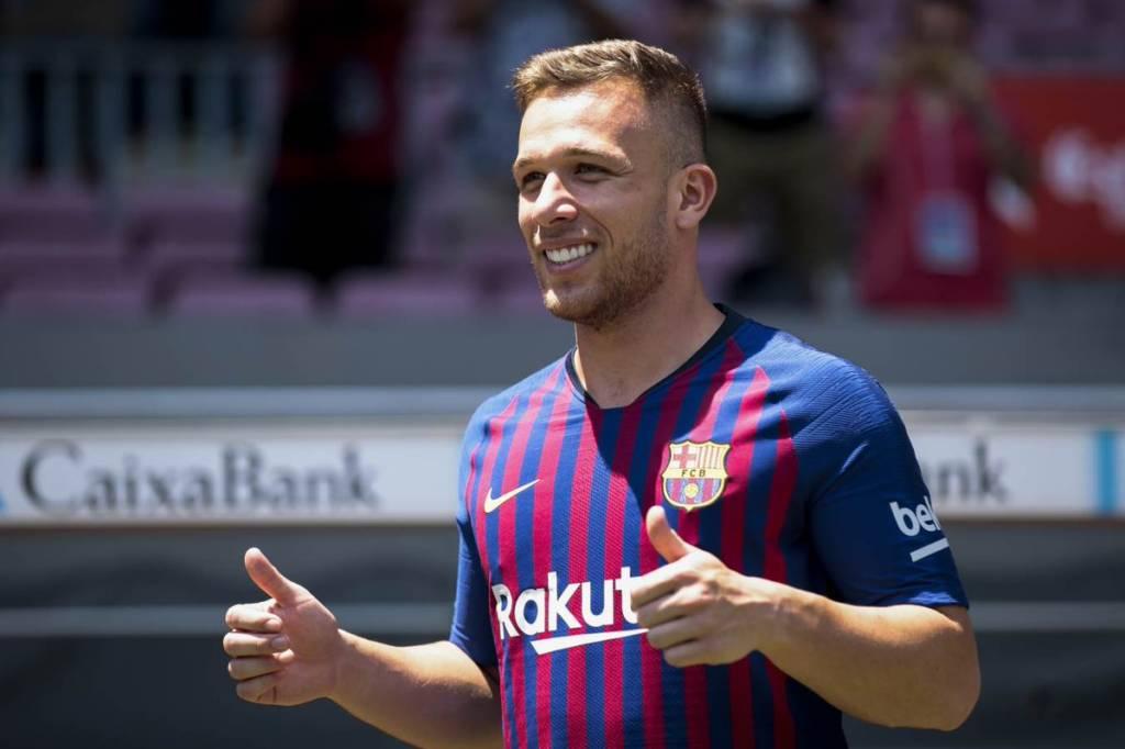 Arthur new king of Barcelona's midfield