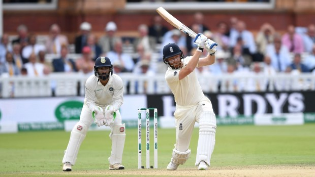 Jonathan Bairstow of England bats during day three of the 2nd Specsavers Test between England and India
