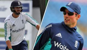 James Vince and Cook