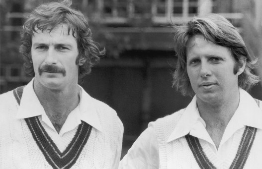 After the Ashes down under Dennis Lillee, along with Jeff Thomson was the bowling duo to watch out for in the first ever World Cup in England. Image Courtesy: cricket.com.au
