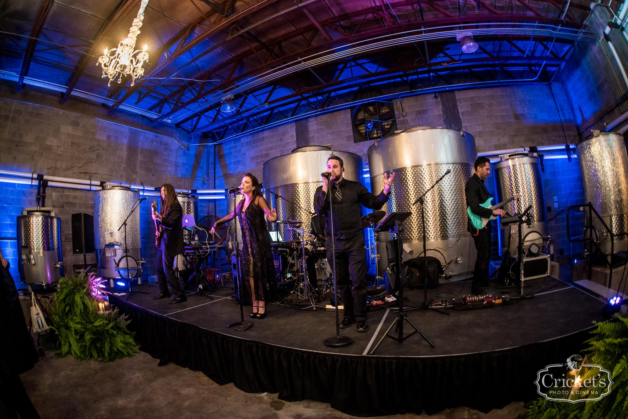 Catherine and Colettes Rocking Orlando Florida Wedding