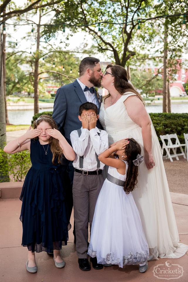 Danielle And Jessys Disney Up Themed Swan Hotel Wedding