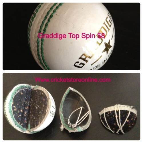 cricket ball top spin image