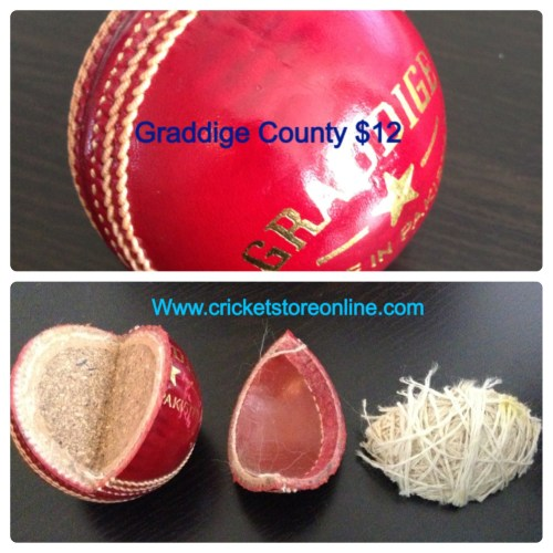 cricket ball county red image