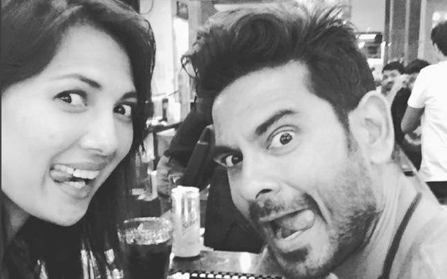 rochelle rao with keith sequeira