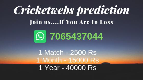 Cricketwebs Betting Tips, Cricketwebs Match Prediction