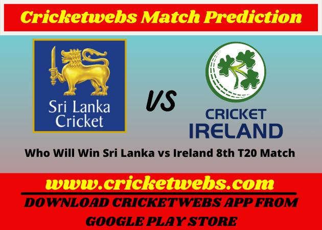 Sri Lanka vs Ireland 8th T20 World Cup 2021 Match Prediction