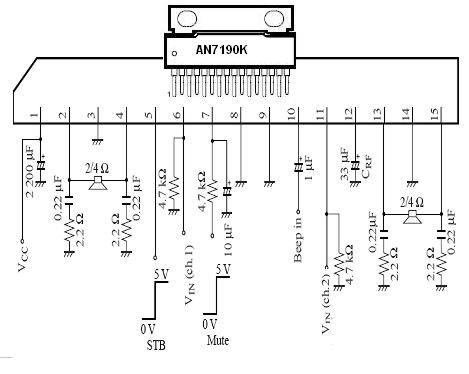 Integrated Circuits Base Number Beginning With A & B