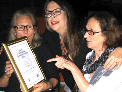 Sally Long Brent Community Champions Award